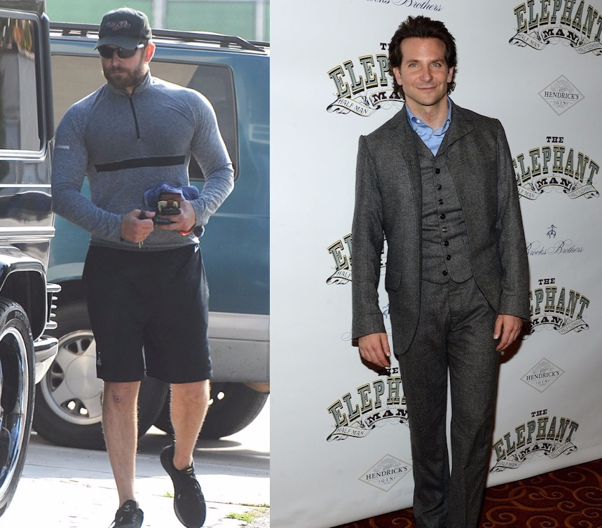 Amazing Celeb Weight T... Bradley Cooper Weight